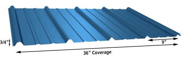 MaterRib Panel 29 and 26 gauge
